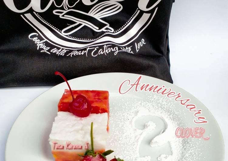 11 Langkah Resep Kue Talam Gembili Special Anniversary Clover Amp Posbar Palawija Yang Mudah