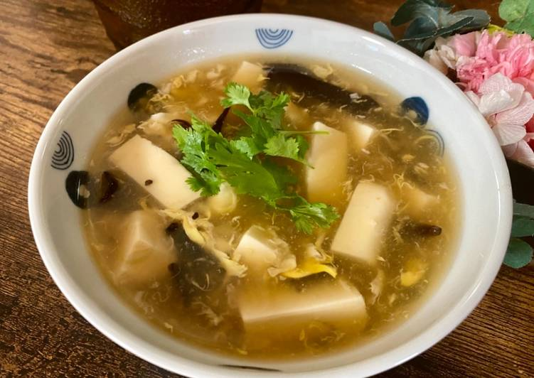 Recipe of Super Quick Homemade Wood ear mushroom soup