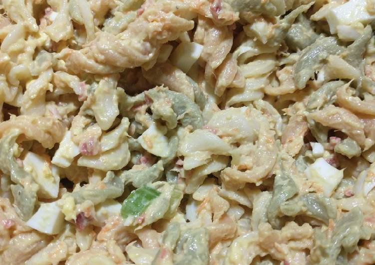 Recipe of Quick Tuna pasta salad