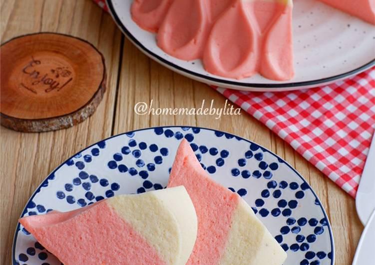 Pudding busa strawberry ala Fatmah Bahalwan #homemadebylita