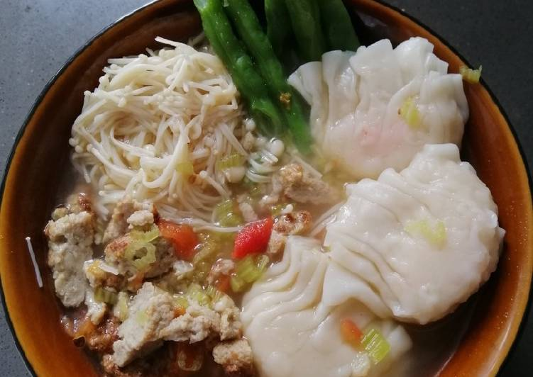 Recipe of Ultimate Noodle Soup