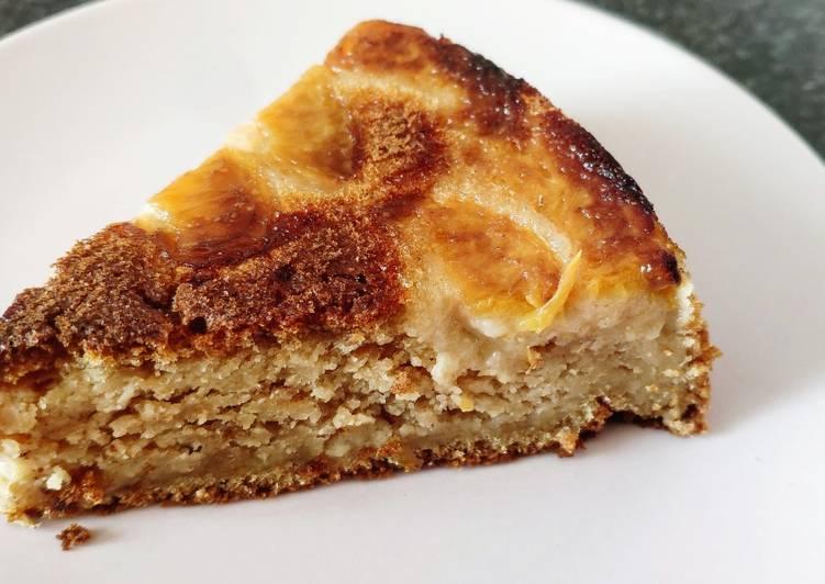 Gâteau à la pêche (vegan)