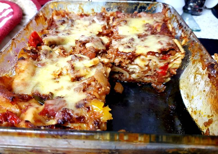 Recipe: Appetizing My 3 Layer lasagne ?