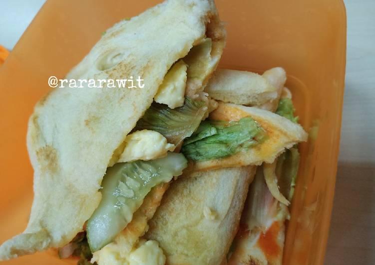 Resep Sandwich ALA ALA Bikin Laper