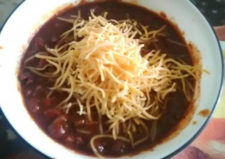 Easy Beefy Chili
