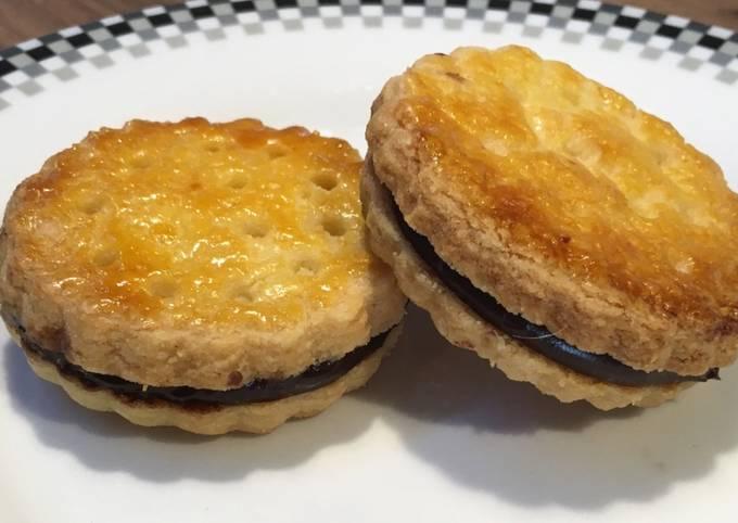 """Biscuits au chocolat façon """"Princes de Lu"""""""