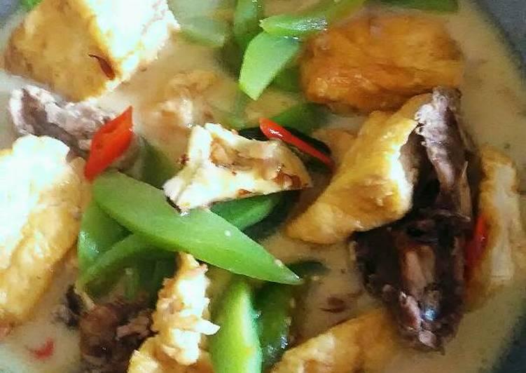Resep Tahu Sayur Santan Bumbu Cemplung Oleh Dapur Desha Cookpad