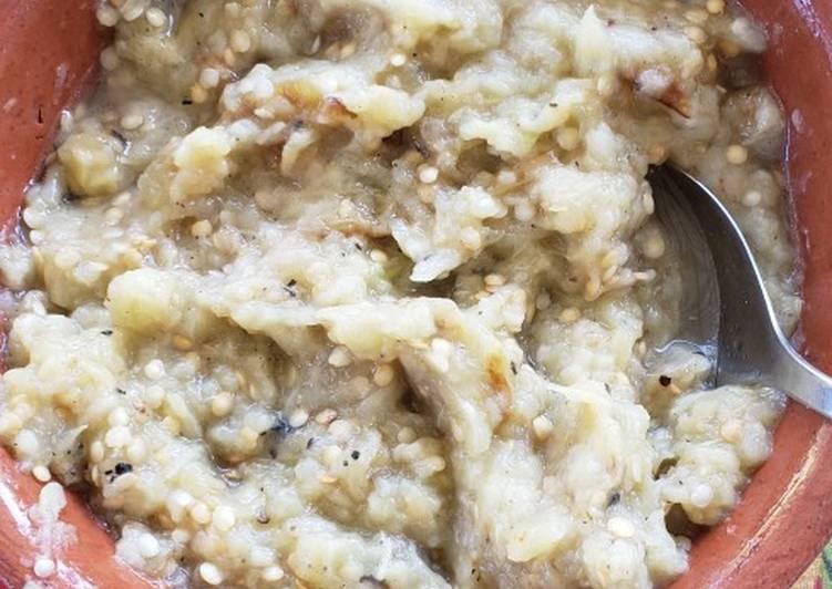 Hummus de Berenjena Ahumada