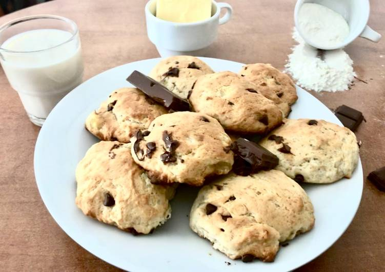 Cookies choco-banane végan et sans sucre