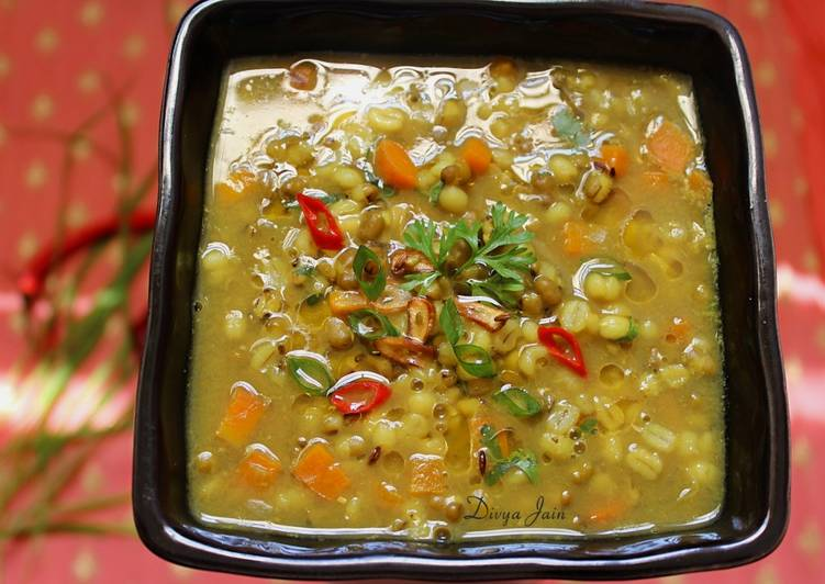 How to Prepare Top-Rated Barley, Beans and Vegetable Stew