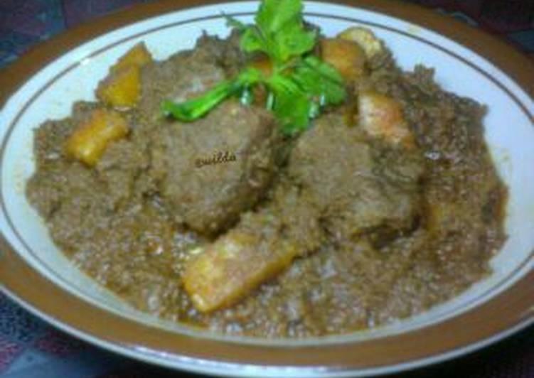 Randang Dagiang Sapi (Rendang Daging)