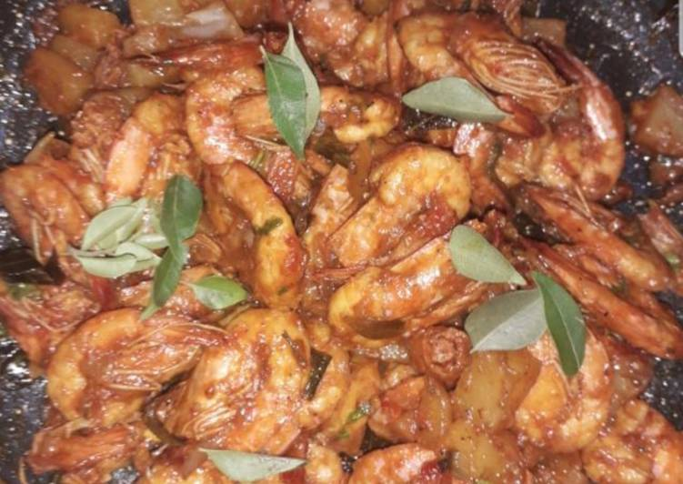 Spicy king prawns fry, Heart Friendly Foods You Should Eat