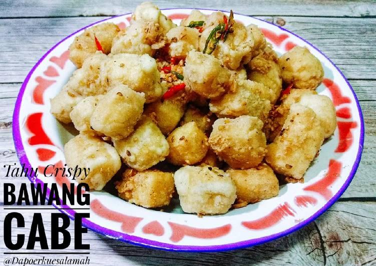 Tahu Crispy Bawang Cabe