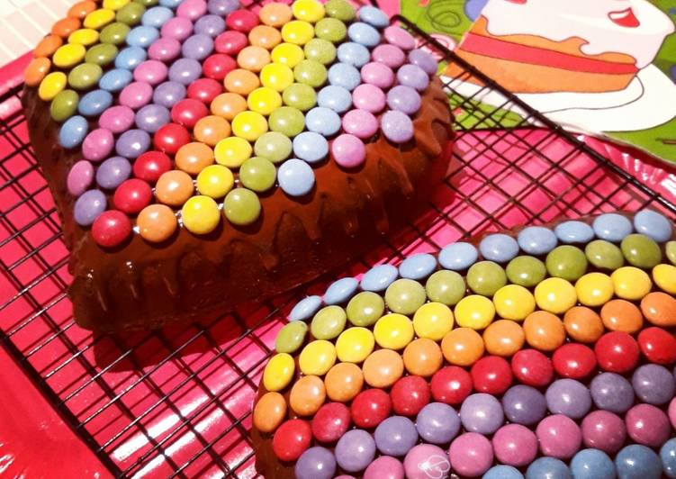 ☆Drip Cake Chocolat au Lait et Smarties©☆