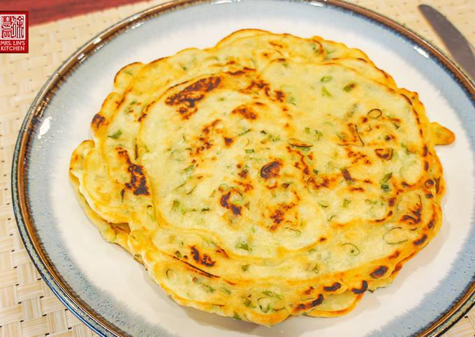Gluten-Free Scallion Pancake recipe main photo