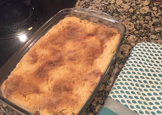 How to Prepare Tasty White Chocolate Snickerdoodle Blondies