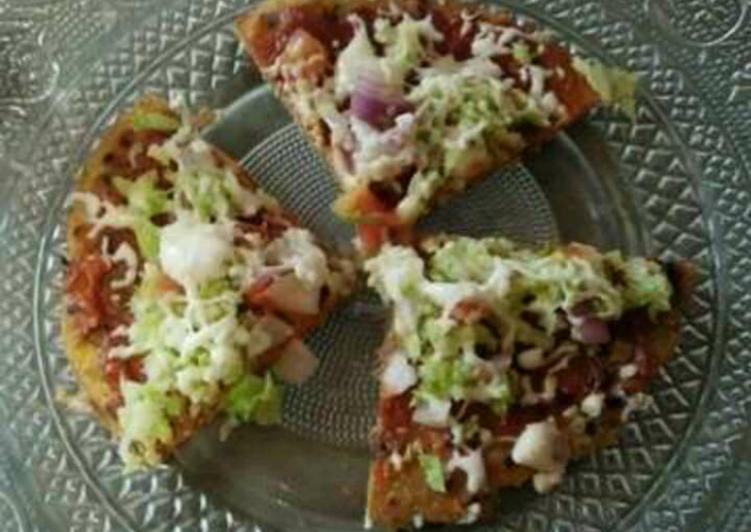 Thepla pizza