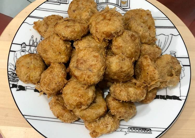 Perkedel kentang ala KFC