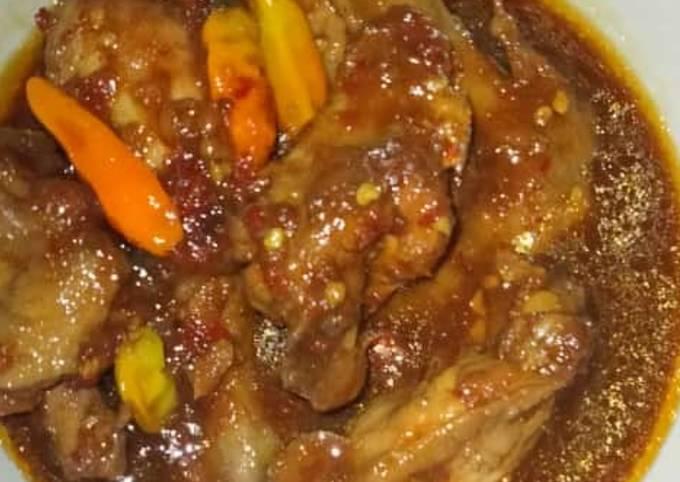 Resep Rica-rica ayam kecap yang enak dan Mudah Dibuat