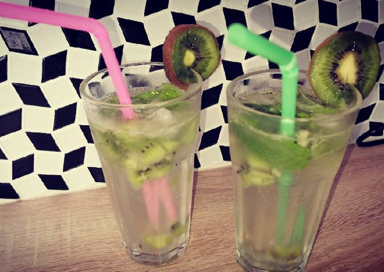 Easiest Way to Prepare Appetizing Virgin mojito kiwi