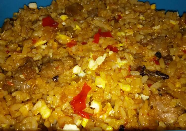 Nasi Goreng Kari Kambing