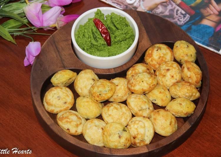 Use Food to Boost Your Mood Chettinad Masala Kuzhi Paniyaram / Chettinad Style Spongy Savory Fritters