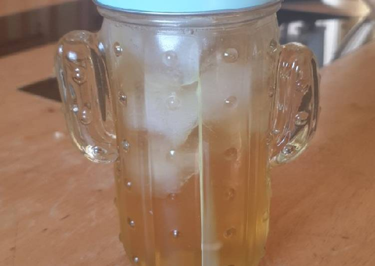 Recipe: Appetizing Iced sweet green tea