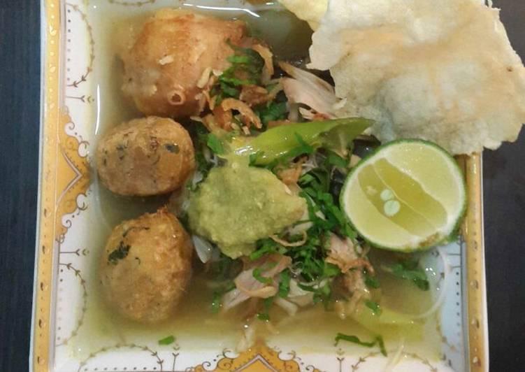 Resep Soto Ayam Bening Anti Gagal