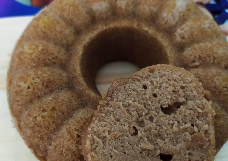 Kue bolu coklat kukus anti ribet