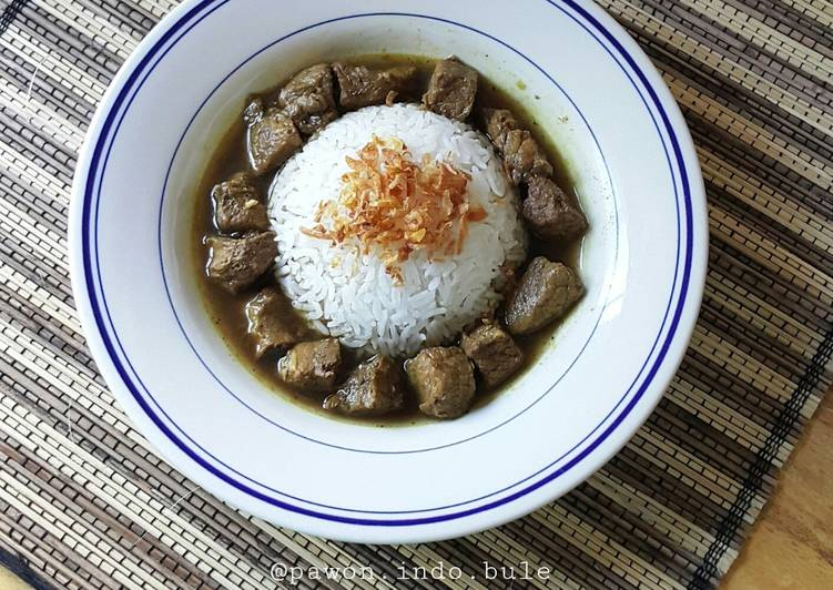 Beef Black Soup (Rawon)