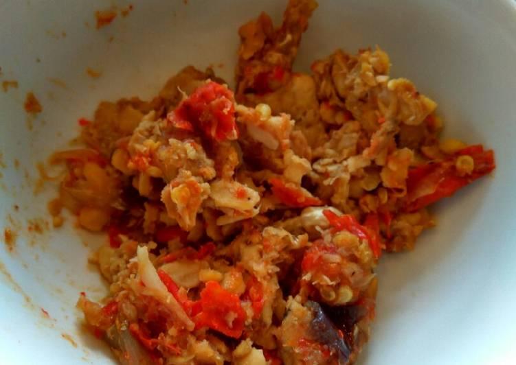 Sambel Tempe Kukus Diet Rendah Kalori Rice Cooker Anak kost