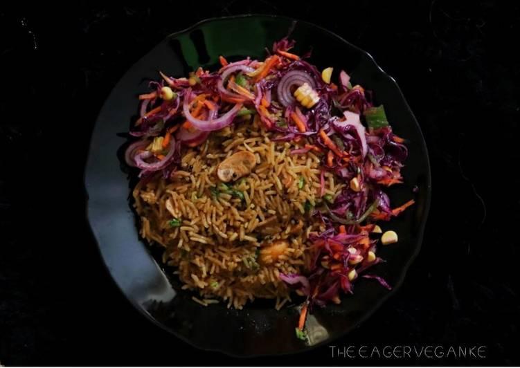 Recipe: Tasty Vegan Mushroom Pilau