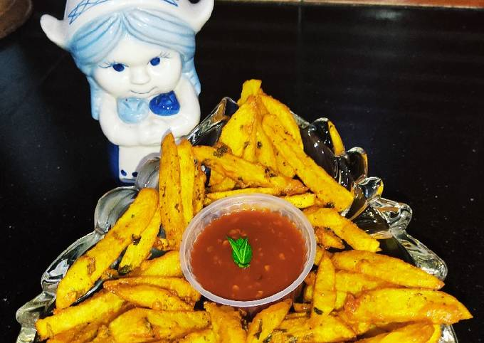 French Fries Style Pakora