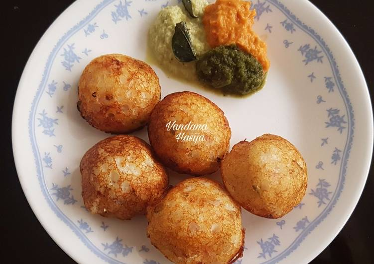 15 Minute Recipe of Blends Paniyaram