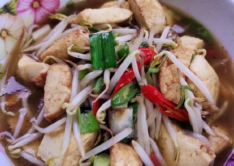 Tumis tofu