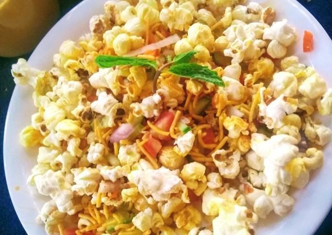 Popcorn bhel