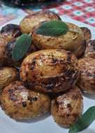Картофель в аэрогриле в соусе барбекю