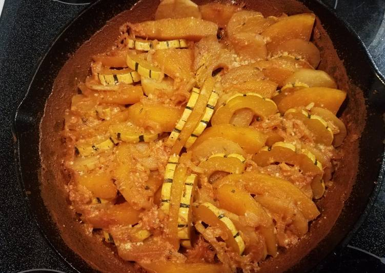 How to Cook Delicious Squash Gratin