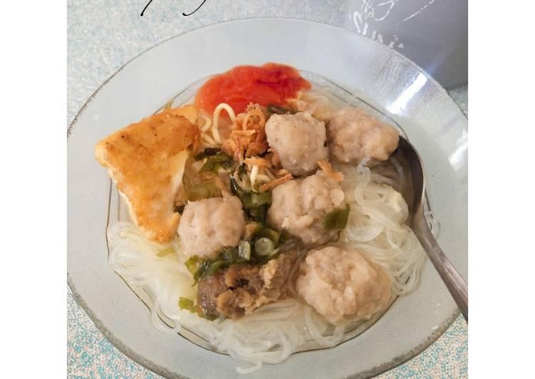 Resep Bakso Sapi Homemade, Enak Banget