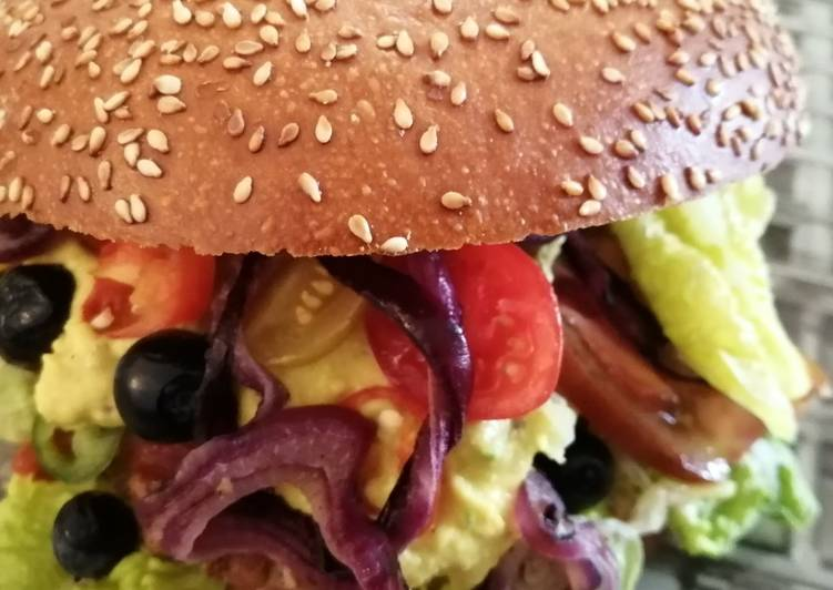 Comment Cuisiner Humberger sauce houmous pistache