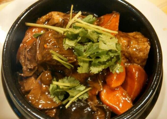 Taiwanese braised beef (Pressure cooker version) 台湾红烧牛肉