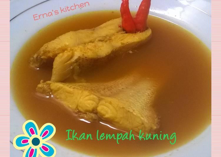 Ikan Lempah Kuning khas Bangka