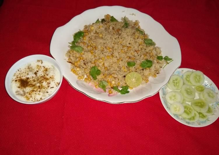 Easy Comfort Dinner Ideas Fall Chana dal pulao