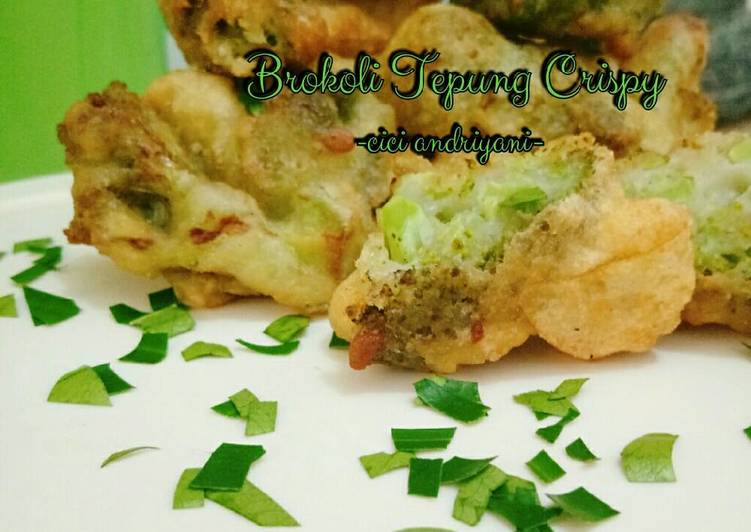 Brokoli Tepung Crispy
