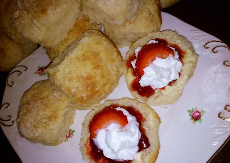 Greek Yogurt Scones #Baking