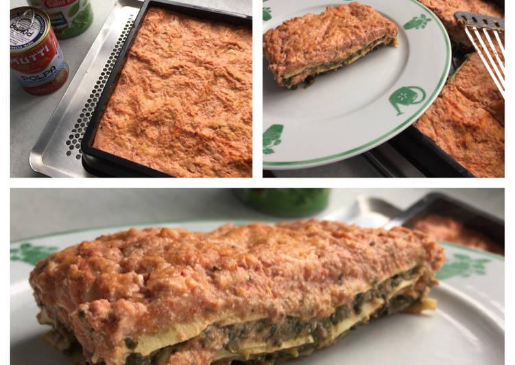Recipe: Tasty Lasagnes light aux épinards