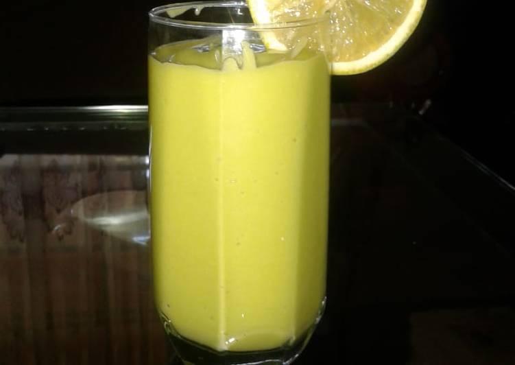Avocado and lemon smoothie#themechallenge