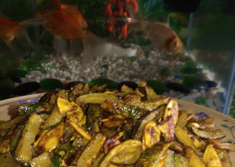 Step-by-Step Guide to Prepare Award-winning Muskmelon peel's fry