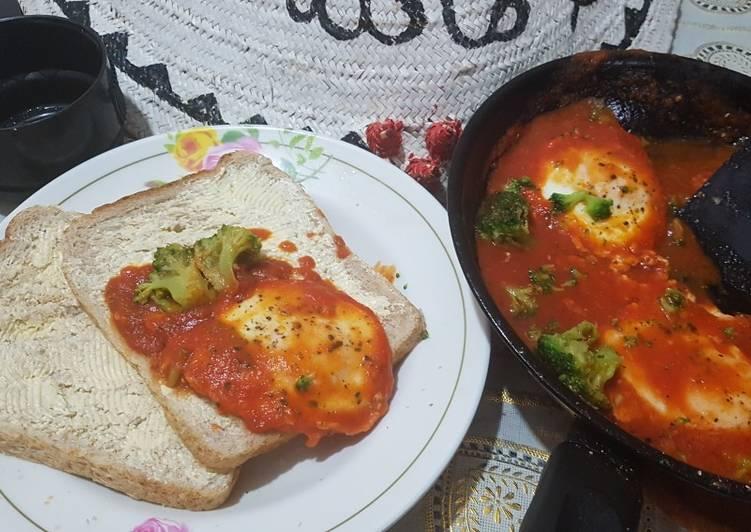 Healthy eggy brekfast