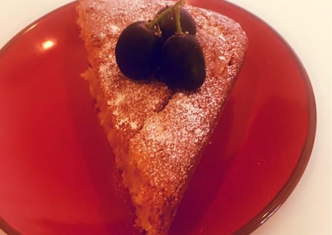 Milopita (Greek Apple Cake)
